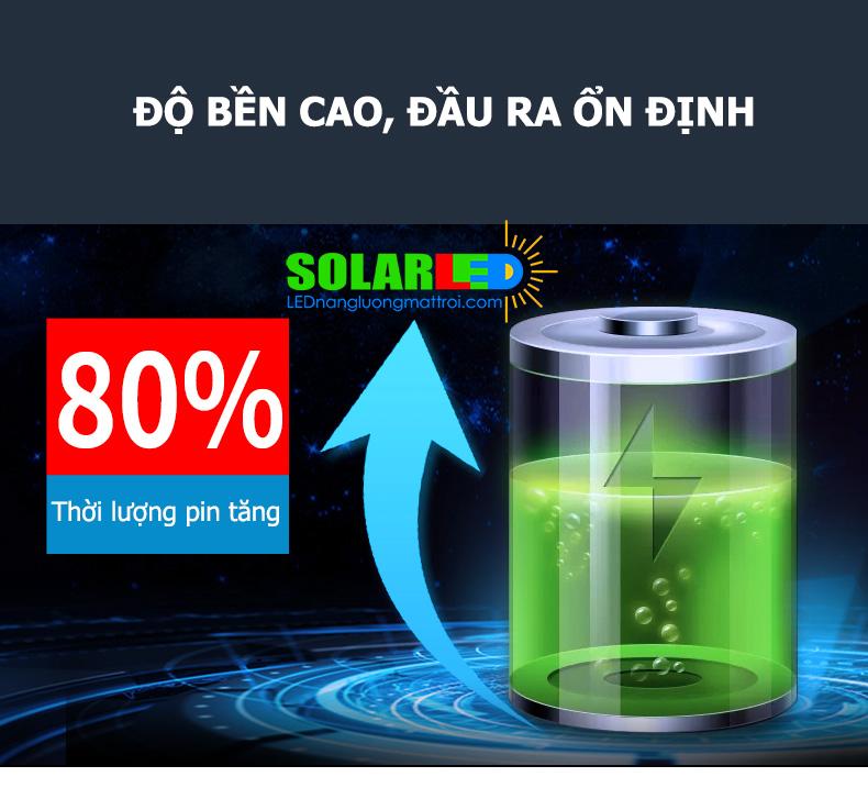 Pin đèn 60w có độ bền cao